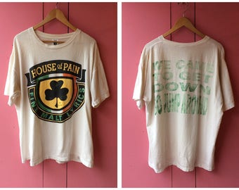 """Vintage 1992 House of Pain """"Jump Around"""" T Shirt"""