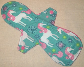 Magical Unicorns 10.5 in. Moderate Cloth Pad