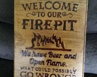 Wood burning crafts