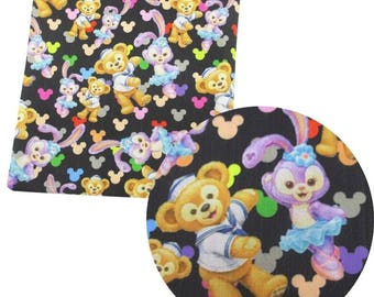 sweet little animals 8 fabric