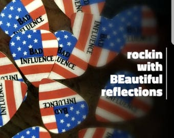 Guitar Picks - Rockin' with BEautiful reflections!