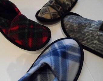 Men's Large Katydid Fleece Slippers