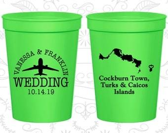 Neon Green Stadium Cups, Neon Green Cups, Neon Green Party Cups, Neon Green Wedding Cups (198)