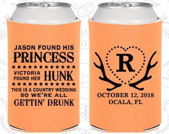 Peach Wedding, Peach Can Coolers, Peach Wedding Favors, Peach Wedding Gift, Peach Party Decor (28)