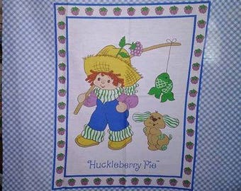 Vintage Huckleberry Pie and Pupcake Strawberry Shortcake Quilt