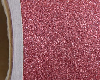 "Glitter Crimson Red Self Adhesive Sign Vinyl Film 12"" wide - By The Yard"