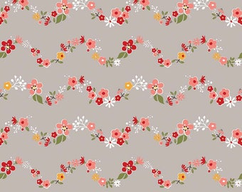 Riley Blake - Sweet Prairie Chains C6544 Gray by Sedef Imer - Calico, Quilt, Quilting, Crafts
