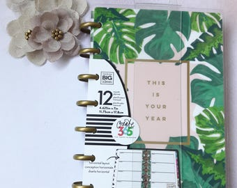 Undated Create 365 Me & My Happy Mini Planner Tropical This Is Your Year 12 Month Planner