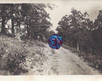 Blue & Purple Swirl Dollop