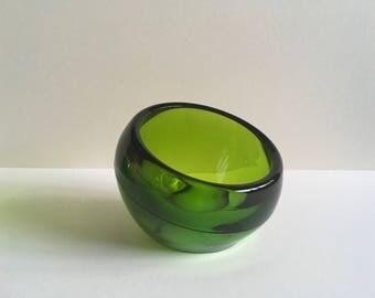 Vintage Glass Bowl.