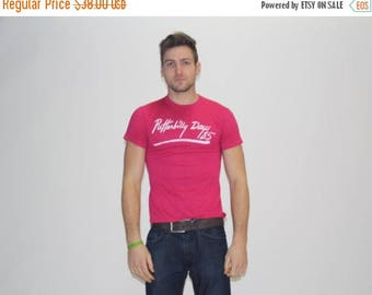 Closing SALE - 1985 Paper Thin 50/50 Tight Vintage Tee Pufferbilly Days -  Vintage  T-Shirt - Vintage 80sTees - MZ0300