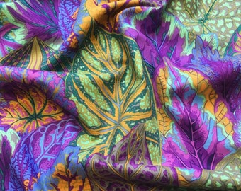 Coleus in Lavender PWPJ030.LAVEN Philip Jacobs Kaffe Fassett Collective Classics Free Spirit Fabric