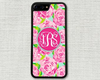 Personalized iPhone 7 Plus Case, iPhone 6 Case, Roses iPhone 6S, iPhone Accessory, Gift for Her, iPhone 6S case, iPhone Case 1180