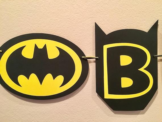 Batman Birthday Decorations Batman Banner Batman Party Batman