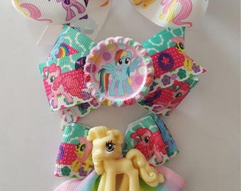 My Little Pony Gift set trio of Hair bows