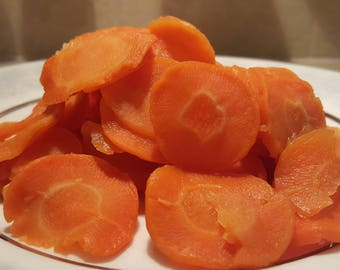 Dehydrated Sliced Carrots