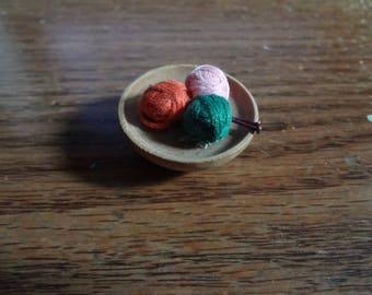 Barbie ~ #976 Sweater Girl: bowl of yarn