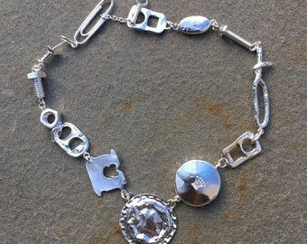 Trashy Trinkets necklace in Silver