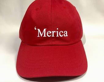 Merica Dad Hat
