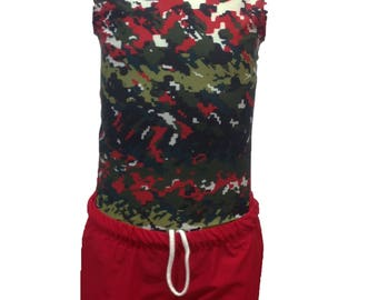 Gymnasrtics Compression Shirts for boys