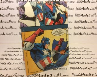 Captain america comic book wallet. Best wallet ever. FREE wallet with every purchase. Check it out