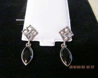silver, onyx vintage