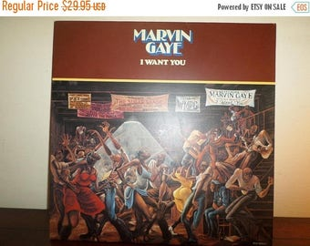 Save 30% Today Vinyl LP Record I Want You Marvin Gaye 180G Reissue Excellent Condition 11285