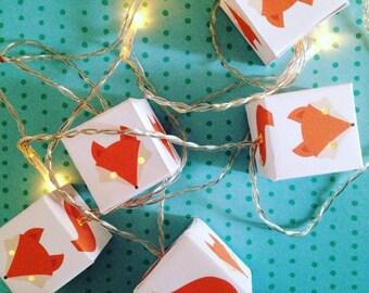 Fox Nursery Creatures Woodland party fairy lights