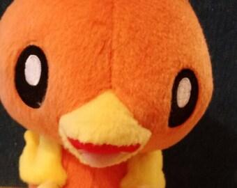Pokemon Torchic Tomy plush 6 inch