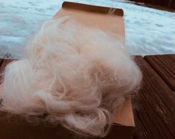 Prime French Angora Wool In the Cloud- Tort