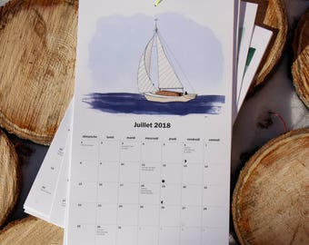 Calendrier 2018 Calendar