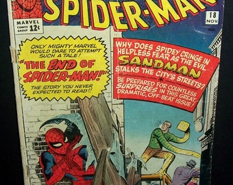 1964 Amazing Spider Man #18 comic