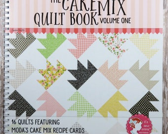 The Cake Mix Quilt Book - Volume One - It's Sew Emma - Moda Cake Mix Recipe Cards - ISE 920