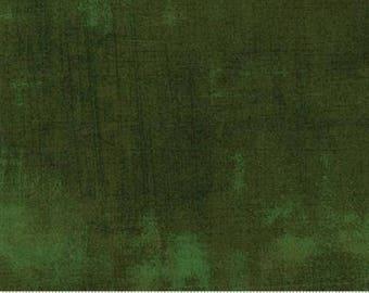 1/2 Yard - Grunge - Forest - BasicGrey - Moda - Fabric Yardage - 30150 366