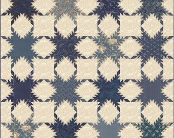 First Flakes Quilt Pattern - Edyta Sitar - Laundry Basket Quilts - LBQ 0572-P