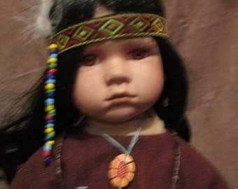 Kinta a Choctaw girl