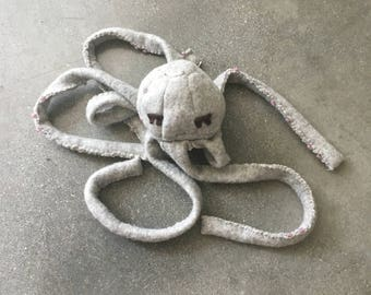 Elke the JellySquid: Soft Sculpture Stuffed Animal