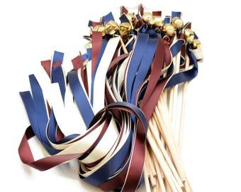 Triple Ribbon Wands