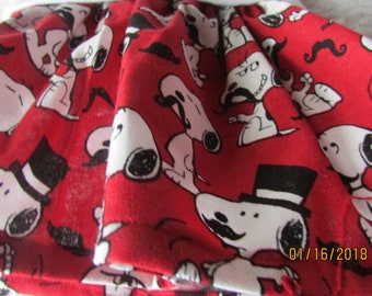 Snoopy with mustache