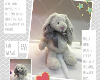 Weighted toy rabbit 640 gms