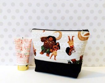 Moana Large Makeup Pouch
