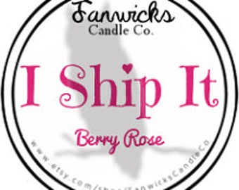 I Ship It Fandom Candle - 4 oz