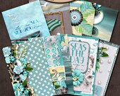 Dashboard A6, Travelers Notebook, Filofax, Daily Planner: Sea Kissed