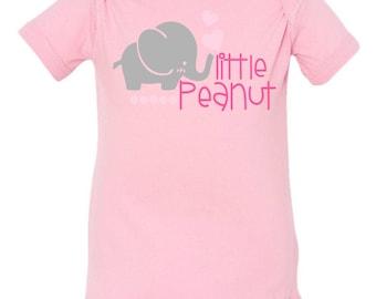 Girls Little peanut Infant Fine Jersey Bodysuit
