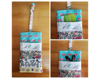 Phone Pouch with wristlet, Phone case, Phone sleeve
