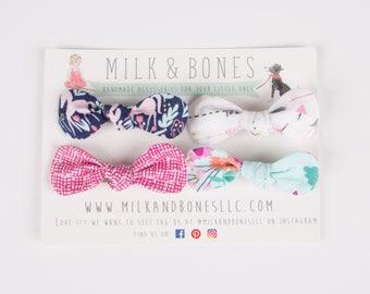 Baby Girl Headbands - Baby Girl Bows - Newborn Headbands - Baby Headband Set - Summer Headband - Girl Hair clips - Baby Shower Gift