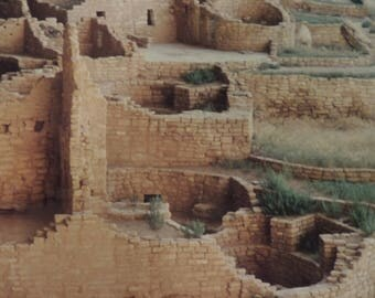 An archaeological site photo