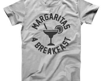 Margaritas 4 Breakfast For Drink Spanish Brunch Basic Men's T-Shirt DT0373