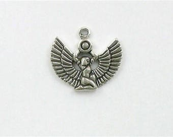 Sterling Silver Egyptian Goddess Isis Charm