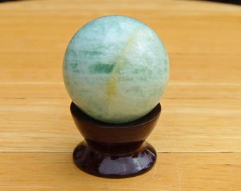Aquamarine Crystal Sphere